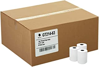 (50) Thermal Paper Rolls 2-1/4 X 63 Ingenico ICT 200 220 250 FD400 Vx520
