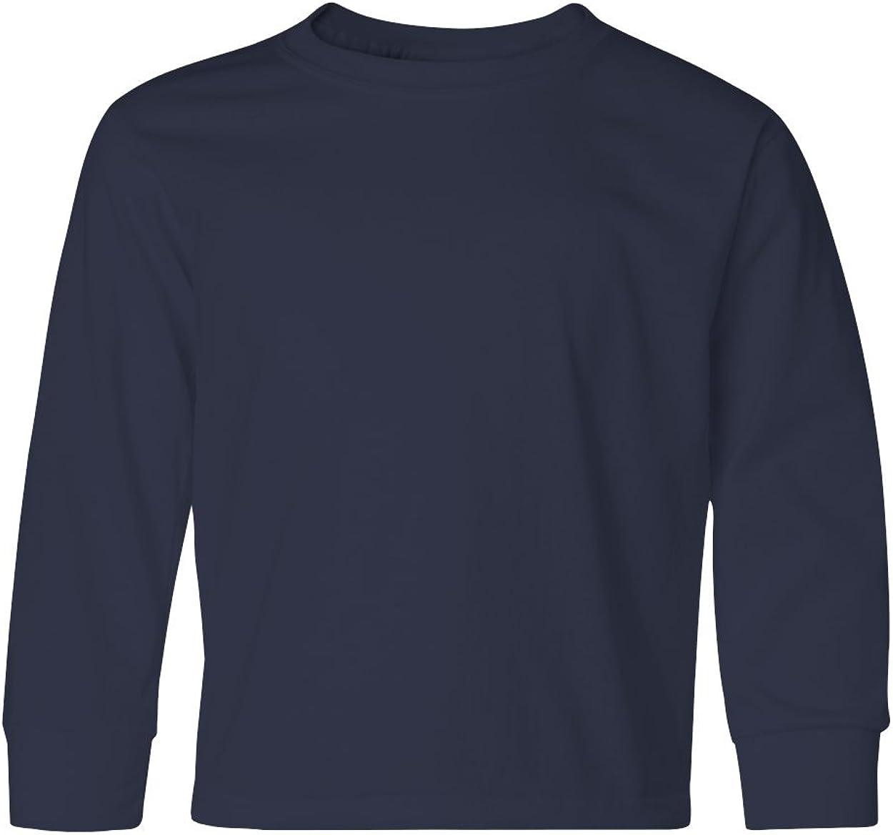 Jerzees Heavyweight Blend Long-Sleeve T-Shirt (29BL) J Navy, L