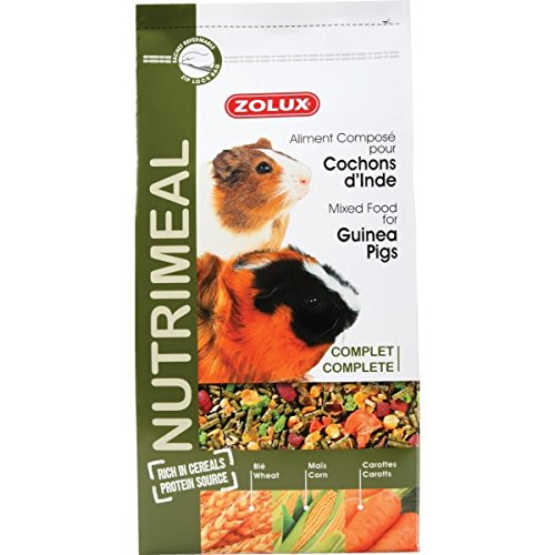 Zolux nutri' Meal alimento per Porcellino d' India 2,5kg