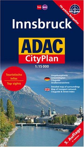 Innsbruck: 1:15000 (ADAC Stadtpläne)