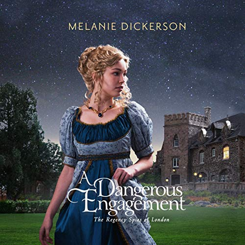 A Dangerous Engagement audiobook cover art
