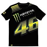 Valentino Rossi Tee Graffio 46 Monster Black, MOTOGP, VR147004 -