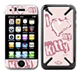 Upper Coque 3D iPhone 3G/3GS Love Kitty