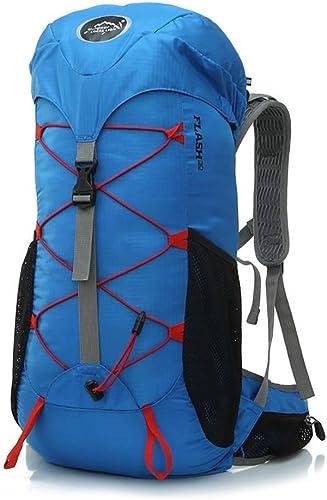 MDBLYJ Sac à Dos Loisirs de Plein air randonnée Camping Sac à Dos léger (Couleur   E)