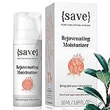 Face Cream, Sensitive Moisturizer, Natural Moisturizing Cream, Anti-Aging, Anti-Wrinkle Support for Sensitive Dry Skin, Fragrance and Paraben Free 1.69 Fl. Oz.