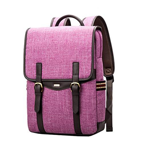 Laptoptas 14/15,6 inch rugzak dames persoonlijkheid hard polyester tas