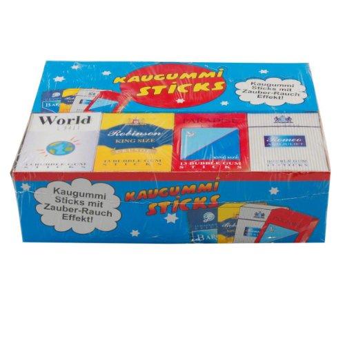 DOK: Kaugummi Zigaretten - 1 Karton mit 24 Packungen à 13 Stück