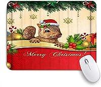 ZOMOY マウスパッド 個性的 おしゃれ 柔軟 かわいい ゴム製裏面 ゲーミングマウスパッド PC ノートパソコン オフィス用 デスクマット 滑り止め 耐久性が良い おもしろいパターン (リスクリスマスクールシックなベリーキャンディーケーンギフト)
