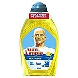 Mastro Lindo limone fresco,detergente multiuso concentrato 600 ml, confezione da 8