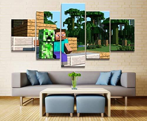 Hd Print Malerei Kunstwerk Malerei Wandkunst Gemälde Auf Leinwand Wandkunst Für Hauptdekorationen Wanddekor 5 Stück Spiel(size 3)