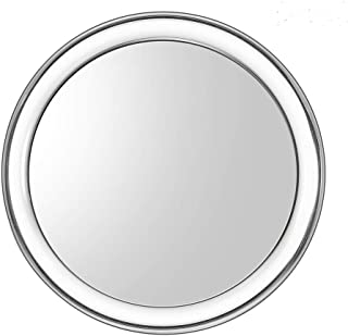 Uarzt Makeup Vantity mirror, 20X Magnifying Mirror detachable beauty mirror 4 Inch Round Makeup Cosmetic Mirror for Bathroom or Bedroom Table (20X)