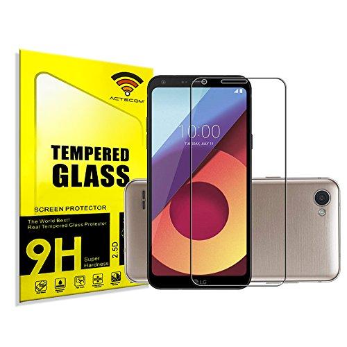 actecom® Protector Pantalla Cristal Templado para LG Q6 Plus con Caja