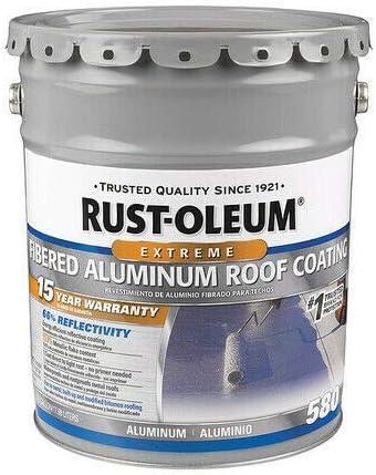 Finally resale start Light Gray 301995 Aluminum Coating Roof 4.75Gal security