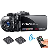 FHD Video Camera Camcorder, 1080P 30.0 Mega Pixels High Definition Camcorder, 18X Digital Zoom 3.0