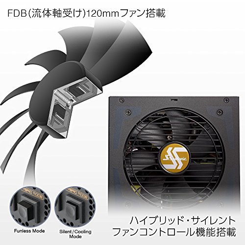 SEASONIC『FocusPlusGoldSSR-FXシリーズ』