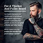 Beard Conditioner For Men With Beard Softener - Beard Thickener with Tea Tree and Beard Growth Oil - Beard Grooming and… 4