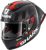Shark Race R Pro GP Lorenzo Winter Carbon antracita Rojo, DAR, XS