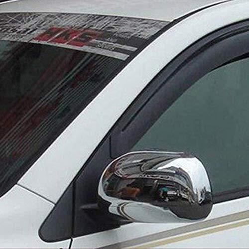 di Alta qualità in plastica ABS Side Door Specchio retrovisore Tappi di Copertura assetta ABS Chrome 2PCS / Set Car Styling