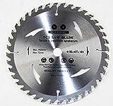 Lame de scie circulaire de qualité supérieure pour bois 185 x 16 mm 40 dents