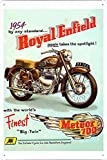 Abstract Sign Royal Enfield Meteor700...