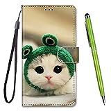 TOUCASA Coque pour Nokia 5,Housse Nokia 5,Coque Cuir PU Portefeuille à Aimant Colourful Design...