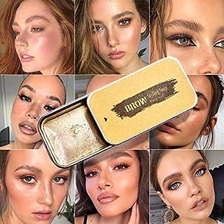 2 Pack Eyebrow Soap Kit, 4D Brows Gel Long Lasting Eyebrow Setting Gel Waterproof Eyebrow Makeup Balm Pomade Cosmetics