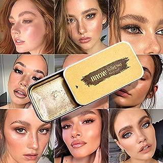 Eyebrow Soap Kit, 4D Brows Gel Long Lasting Eyebrow Setting Gel Waterproof Eyebrow Makeup Balm Pomade Cosmetics