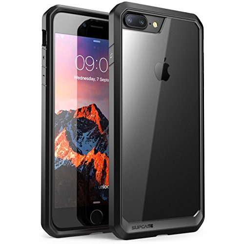 SupCase iPhone 7 Plus Hülle, iPhone 8 Plus Hülle, Unicorn Beetle Schutzhülle Premium Schale Case Transparente Handyhülle für Apple iPhone 7 Plus/iPhone 8 Plus, Frost/Schwarz