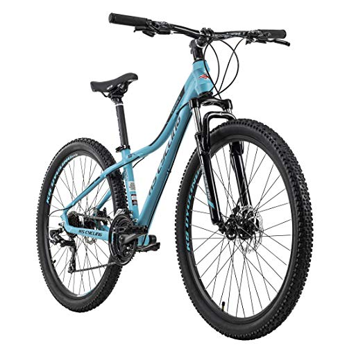 KS Cycling Damen-Mountainbike Hardtail 27,5'' Cannes Türkis RH 41 cm