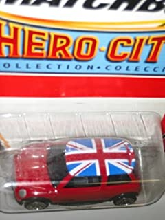 Matchbox MINI COOPER S Hero-City Collection 1:64 Scale Collectible Die Cast Car