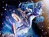 DIY 5D Diamante Pintura Taladro Completo por Número Kit libros pintura de diamantes Crystal Rhinestone Artes de Bordado Punto de Cruz Lienzo para Pared Decoración del Hogar -Square Drill,70x90cm