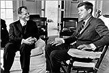 Leinwandbild 60 x 40 cm: Bundeskanzler Willy Brandt und