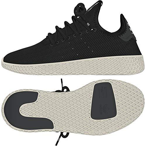 adidas adidas Pw Tennis Hu J Fitnessschuhe, Grau (Carbon/Carbon/Blatiz 000), 36 EU