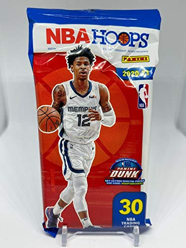2020/21 Panini Hoops NBA Basketball CELLO Fat Pack (30 cards/pack)