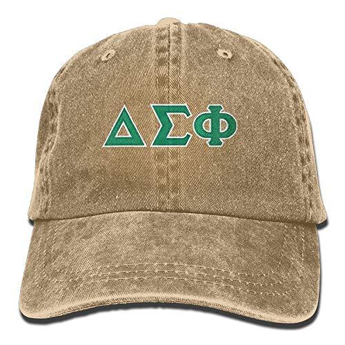 Delta Sigma Phi Adjustable Cotton Cap