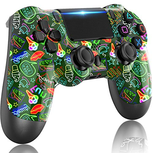 PS4 Controller Wireless,LITTJOY for Playstation 4 Controller,Compatible with PS4/Slim/Pro Console (forest green)