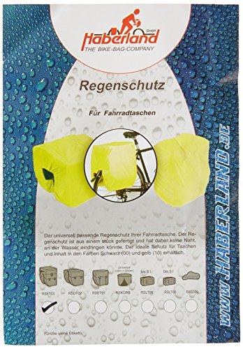 Haberland Regenschutz für Dreifachtaschen, gelb, One Size