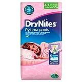 Huggies 4-7 años DryNites para niñas 10 por paquete