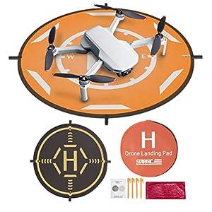 """Drones Landing Pad,STARTRC Universal Waterproof Portable Foldable Landing Pads for DJI Mini 2/Mavic Mini/Mavic 2 /Mavic Pro/Mavic Air 2 (20"""")"""