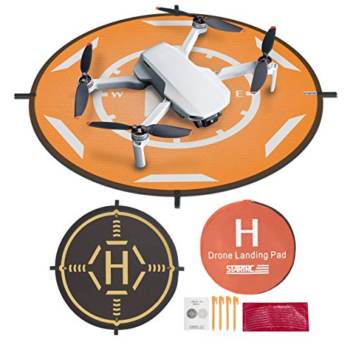 STARTRC Drone Landing Pad Dobladillo Plegable Universal Función para dji Mini 2/Mavic 2 Pro/Zoom/Mavic Air 2/Mavic Pro/Mavic Mini Drone (20