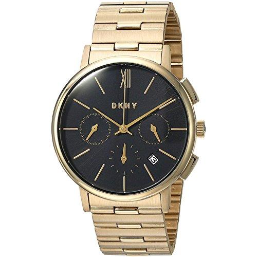 DKNY Damen Chronograph Quarz Uhr mit Edelstahl Armband NY2540
