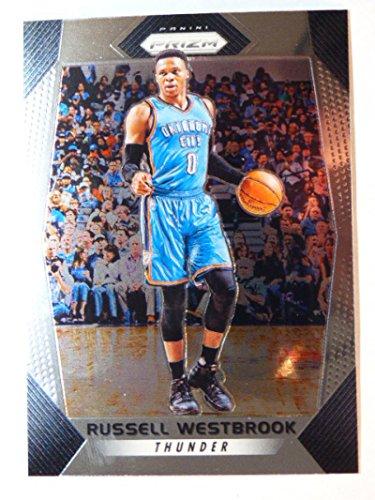 2017-18 Panini Prizm #261 Russell Westbrook Thunder