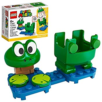 LEGO Super Mario Frog Mario Power-Up Pack 71392 Building Kit  Collectible Gift Toy for Creative Kids  New 2021  11 Pieces