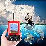 InaláMbrica Buscador de Peces ,Alarma Ecosonda Buscador de Profundidad Lcd de Alta DefinicióN PortáTil Sonar Buscador de Equipo de Pesca en Kayak, Para Pesca Marina O Pesca en Zonas EspecíFicas