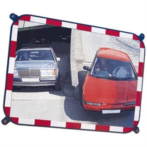 Industriële spiegel van veiligheidsglas, 40x60cm