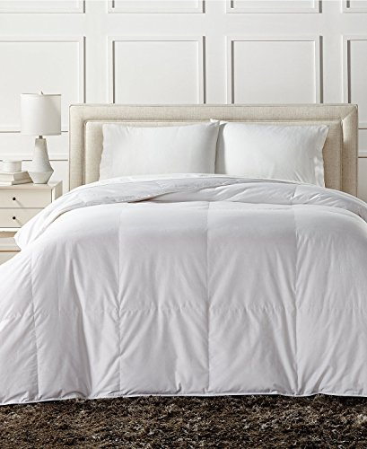 Charter Club European White Down Light Weight Full Queen Comforter - Hypoallergenic, UltraClean