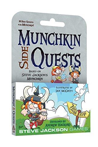 Steve Jackson Games sjg04264Munchkin Side quests, Multicolor