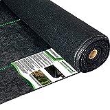 WAENLIR 5.8oz Heavy Duty Weed Barrier Landscape Fabric,Premium Durable Weed Blocker Cover,Outdoor Gardening Weed Control Mat 3ft x100ft