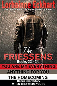 The Friessens Books 22 - 24 (The Friessen Legacy Collections Book 9) by [Lorhainne Eckhart]