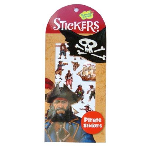 Peaceable Kingdom Brillant Autocollants Illustrés Colorés - Pirates